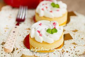 dailydelicious thai: Lychee Tart: My Sweet little tart