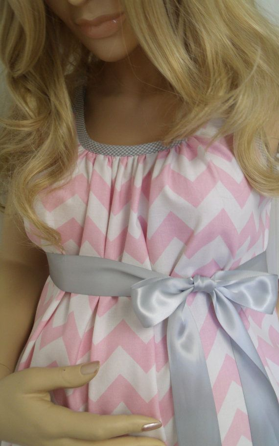 Hey, I found this really awesome Etsy listing at https://www.etsy.com/listing/192614184/pink-chevron-maternity-hospital-gown
