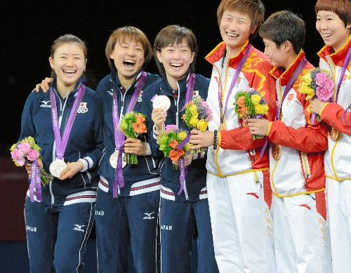 Olympic Table Tennis Women Japan
