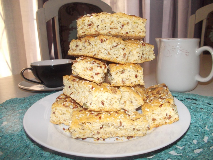 Love these Health Rusks - traditional South African biscuits that are especially delicious when dipped in tea.