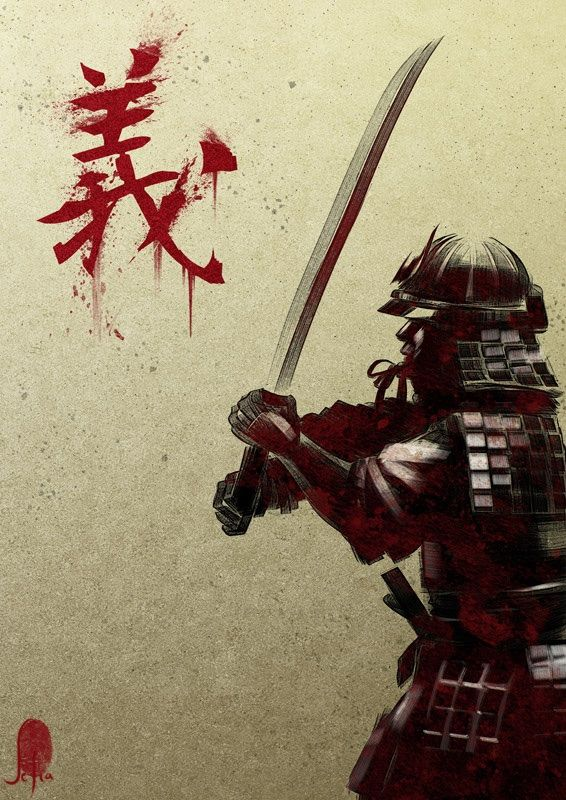 Samurai's are one of my favourite warriors.