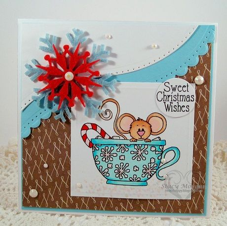 Christmas Celebration! Cards: Sweet Christmas Wishes by Stacy Morgan