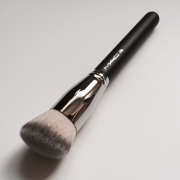 Mac 170 Angled Foundation Brush Brand new and authentic. Comes in plastic sleeve. ANYONE with offers blocked ASAP. MAC Cosmetics Makeup Brushes  Tools