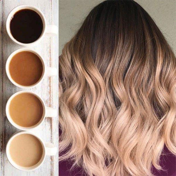 Coffee Color Melt Coffee Hair Color Coffee Hair Color Melting Hair