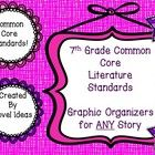These are reading logs tailor made for each common core literature standard. It is meant to be used for all types of fiction passages. You are able...