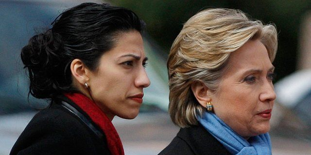 Down with the BLOODY red queen!!! Clinton Foundation Received Millions from Saudis, Qatar, Iran . In addition, a senior Muslim Brotherhood operative recently arrested in Egypt worked for years at the Clinton Foundation. In photo, longtime aide Huma Abedin is also linked to Muslim Brotherhood.