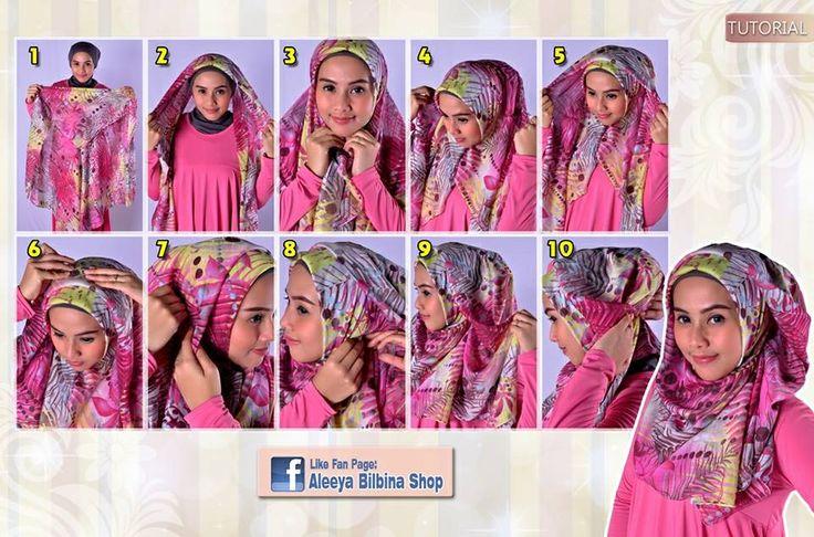 #hijab #square #tutorial #easy #stepbystep