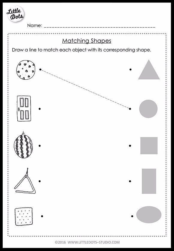 Pre K Math Shapes Worksheets And Activities Shapes Worksheets