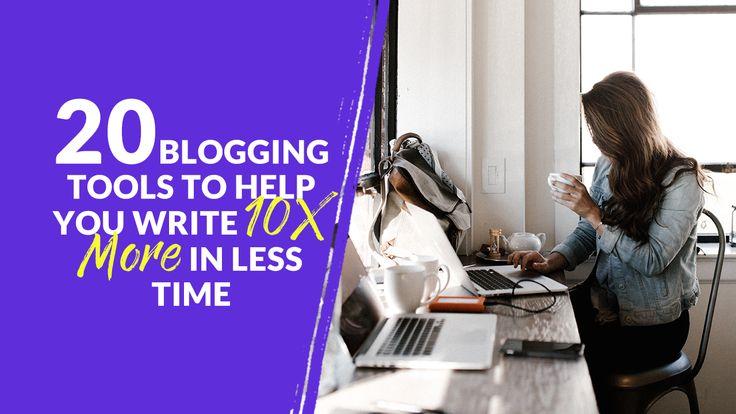 20 Blogging-Tools, mit denen Sie in kürzerer Zeit 10-mal mehr schreiben können