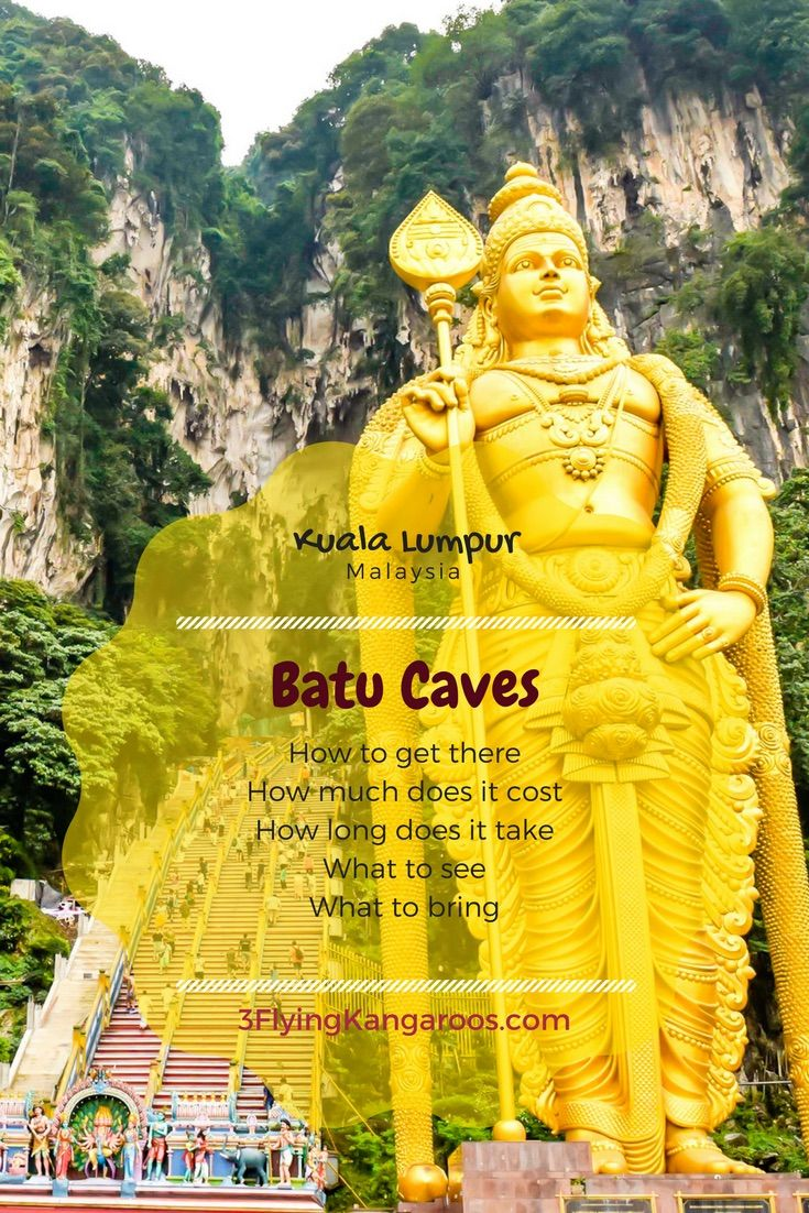 One of the best caves we've been to... Batu Caves near KL.