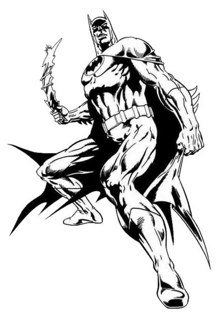Batman Coloring Pages Printable For Download