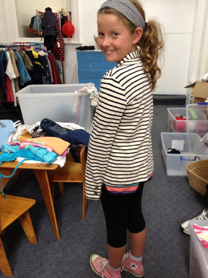 """""""a rose amongst the thorns"""". Miss Nellie wearing her newly purchased striped blazer. $49.95. Very sweet x"""