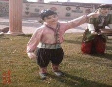 Peasant Boy Statue