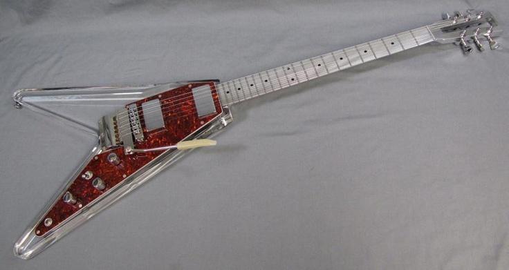 electrical guitar company brent hinds custom flying v. Black Bedroom Furniture Sets. Home Design Ideas