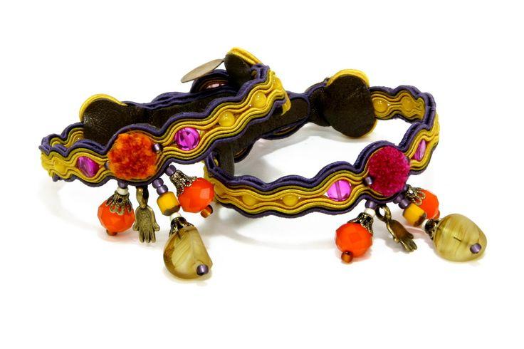 Our Ibiza charm bracelet are now 50% off!  #doricsengeri #charmbracelet #specialoffer #yellow #springtrends