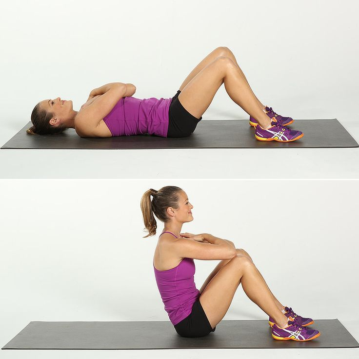 Core: Full Sit-Ups | 25 Exercises You Need to Be Doing | POPSUGAR ...