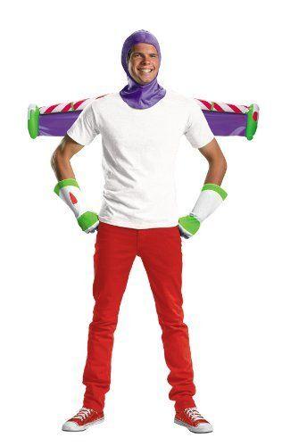 NEW BUZZ LIGHTYEAR ACCESSORY ADULT KIT Halloween Costume Toy Story NIP One size