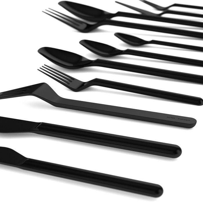 ora ito recto verso cutlery for christofle nero pinterest ux ui designer minimalism and. Black Bedroom Furniture Sets. Home Design Ideas