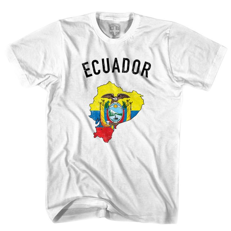 Ecuador Flag & Country T-shirt