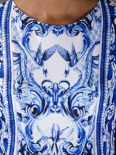 ROBERTO CAVALLI - printed dress
