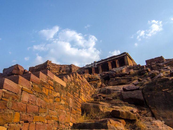 Buddha Chaitya Cave at Aihole, India