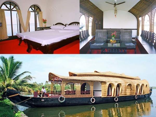 The Kettuvallam (House Boat in Kerala, India)