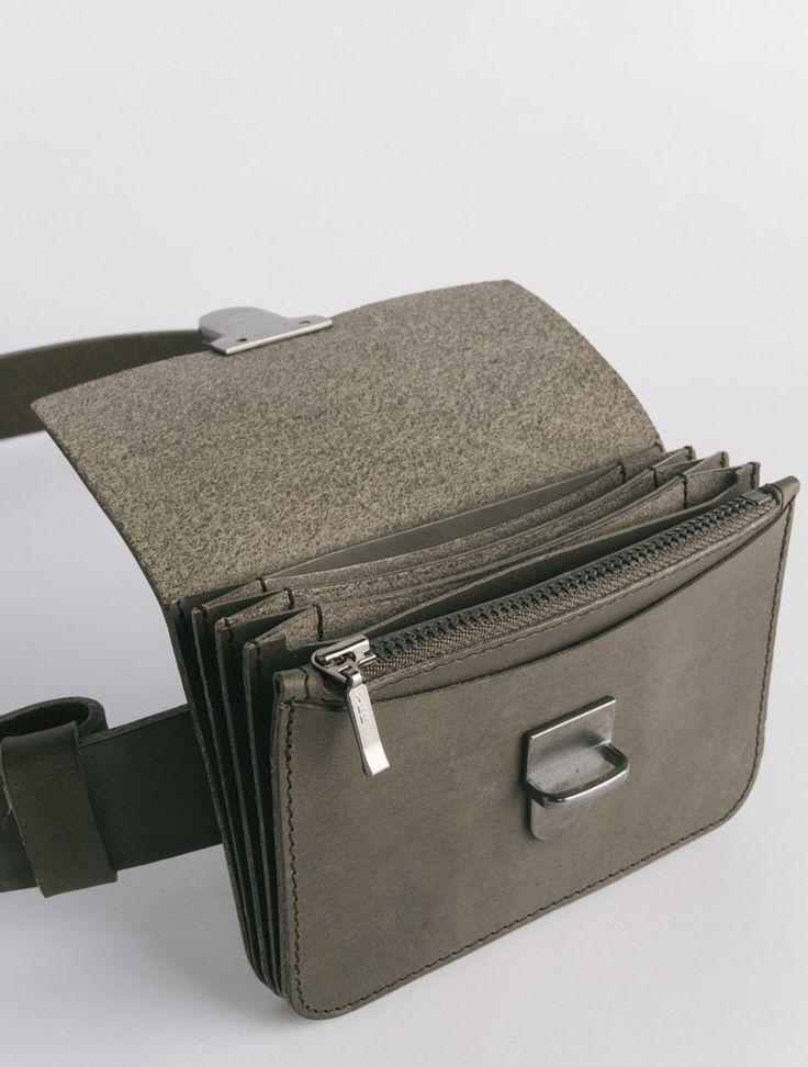 LEVIT 02 DAN Grey wallet belt