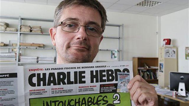 Backlash as French magazine Charlie Hebdo publishes Mohammad cartoon 19Sep12 fox news