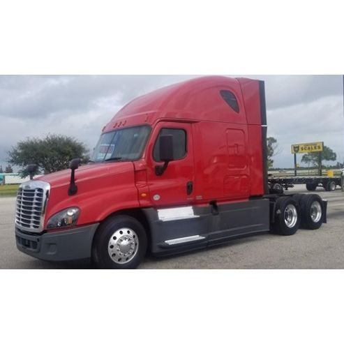 Quantity 1 Year 2016 Manufacturer Freightliner Model Cascadia 125 Evolution Condition Used Mileage 594 677 Mi Freightliner Auxiliary Power Unit Air Ride
