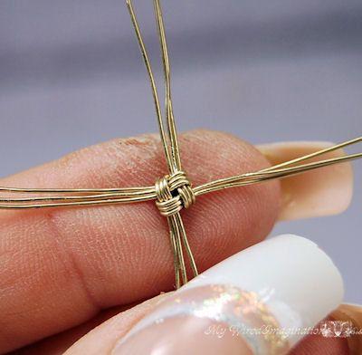DIY Bracelet Link Bracelet Pattern Story by MyWiredImagination