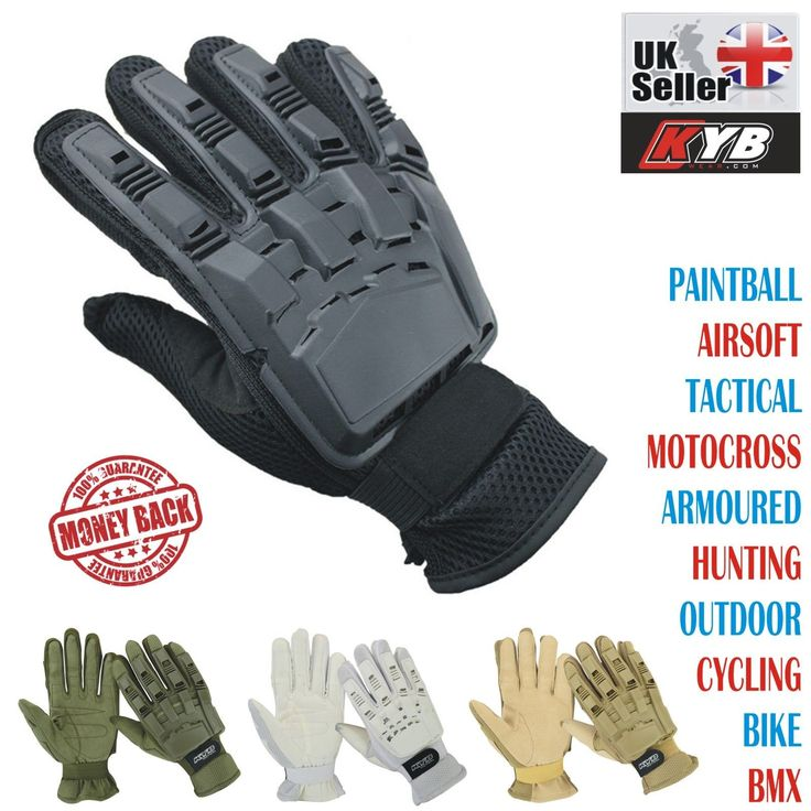 Kyb #paintball airsoft tactical motocross cycling bmx armour full #finger #gloves,  View more on the LINK: http://www.zeppy.io/product/gb/2/122017751523/