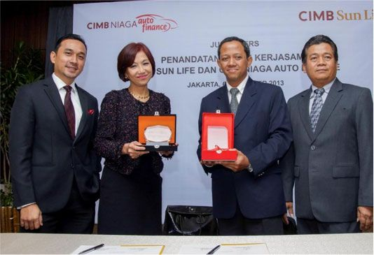 CIMB Sun life | News | Produk Pembiayaan CIMB Niaga Auto Finance Memiliki Perlindungan Asuransi Jiwa dari CIMB Sun Life