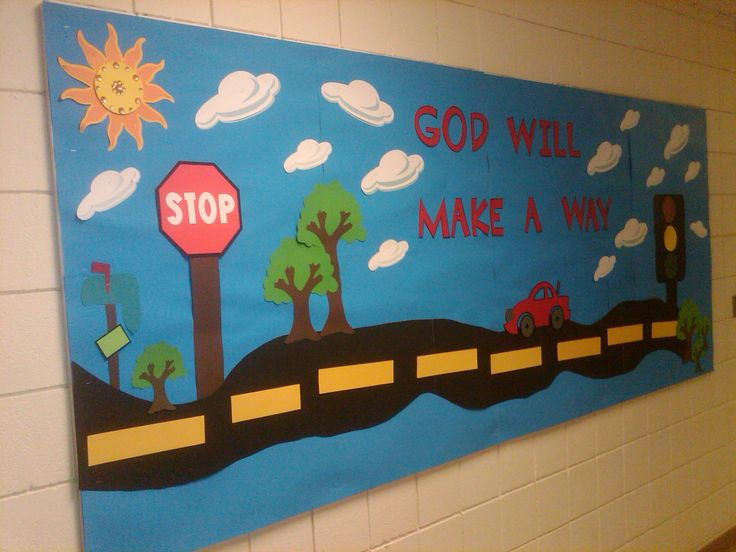free church bulletin board ideas