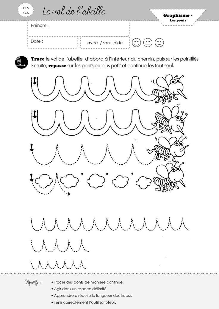 17 b sta bilder om en classe abeilles p pinterest animaux montessori och matte. Black Bedroom Furniture Sets. Home Design Ideas