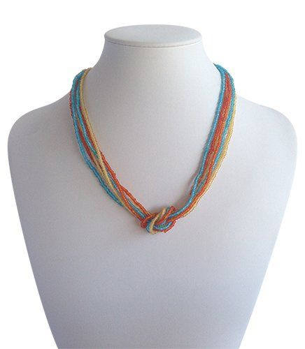 Love Knot Mixed Colour | Indigo Heart - Fair Trade Fashion  A$19.50