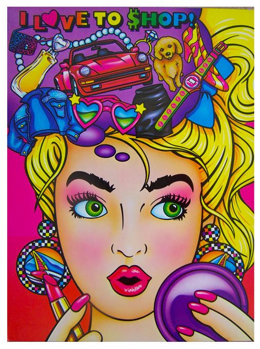 LIsa Frank.  Totally had this notebook.