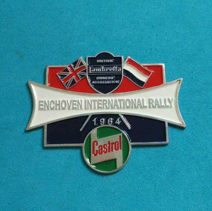 Badge Castrol Enchoven International Rally 1964