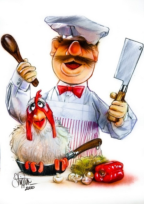 Swedish Chef | Paul Shipper ... see on the Muppets...