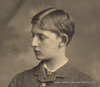 Prince Ferdinand de Hohenzollern-Sigmaringen (1865-1927) fils du prince Léopold et de la princesse Antonia du Portugal. Futur roi Ferdinand 1er de Roumanie