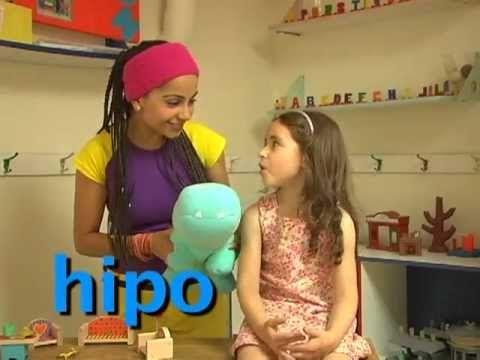 Hipopótamo Cantando Aprendo a Hablar