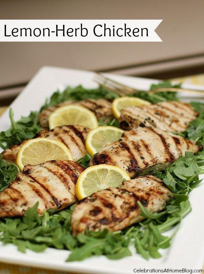 Al Fresco Lemon-Herb Chicken