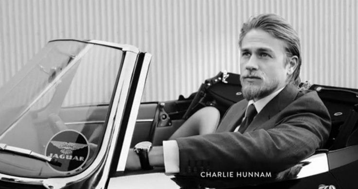 Photo of Charlie Hunnam Jaguar - car