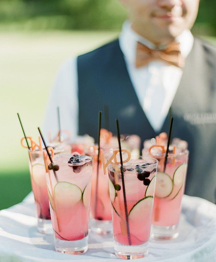 Meadowood Napa Valley Wedding cocktails! #VisitNapaValley