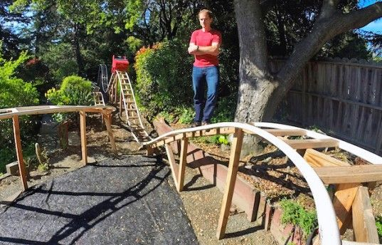 Will Pemble, the Coaster Dad Project, DIY roller coaster, roller coaster design, backyard roller coasters
