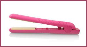 Herstyler Colorful Seasons Hot Pink Flat Iron 1.5″ Ceramic Hair Straightener If you just want a flat iron that straightens your hair, this one is it. http://theceramicchefknives.com/ceramic-hair-straightener/  Herstyler Colorful Seasons Hot Pink Flat Iron 1.5″ Ceramic Hair Straightener