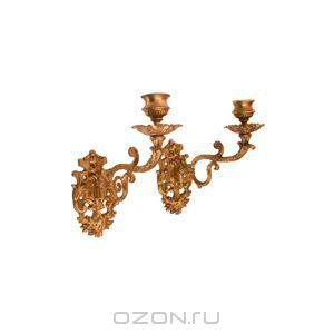 OZON.ru - Подарки | Подсвечники настенные (бронза, Зап. Европа, середина ХХ века) | | Интернет-магазин: купить подарки, сувениры