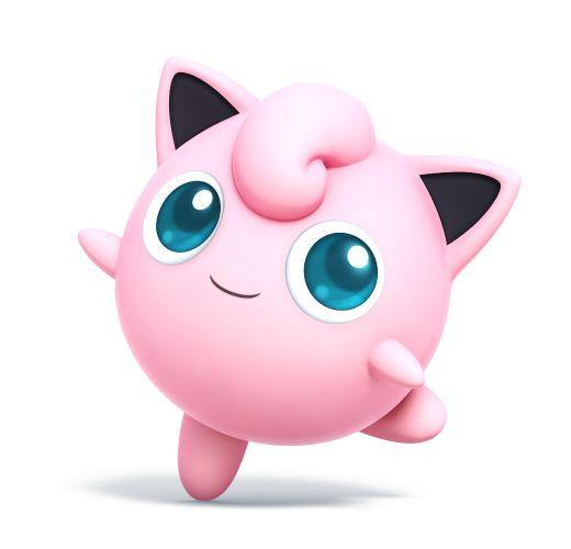 Jigglypuff as she appears in Super Smash Bros. for Nintendo 3DS / Wii U.