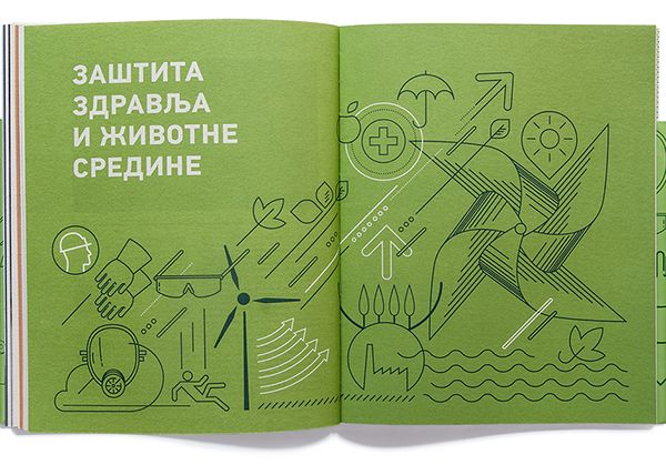 NIS Annual Reports 2012 on Behance