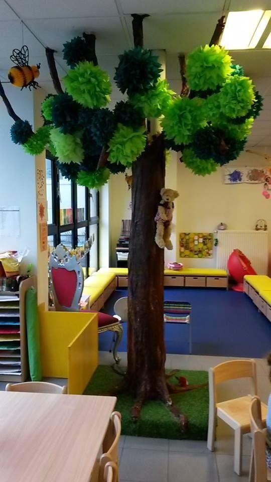 Klasversiering - Een kale boom die je leuk kan versieren per…