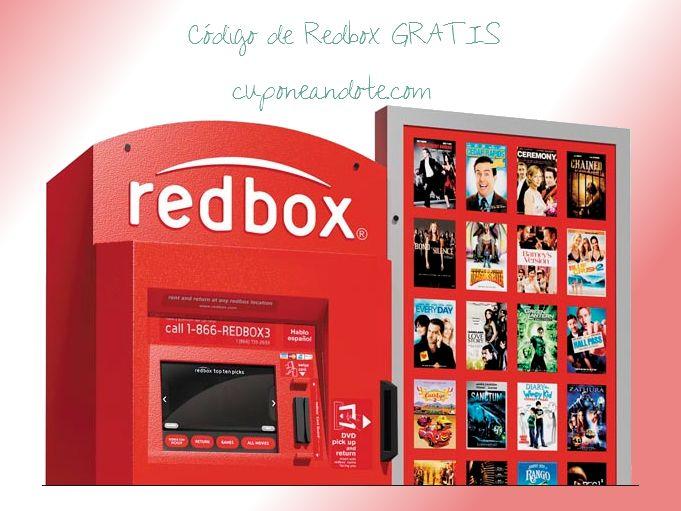 codigo gratis de redbox